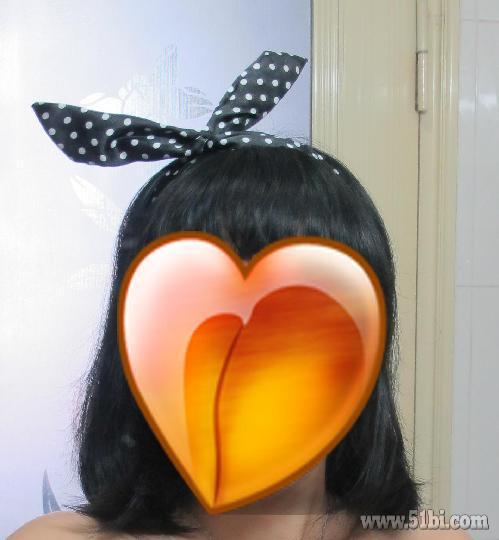 百变兔耳朵发带