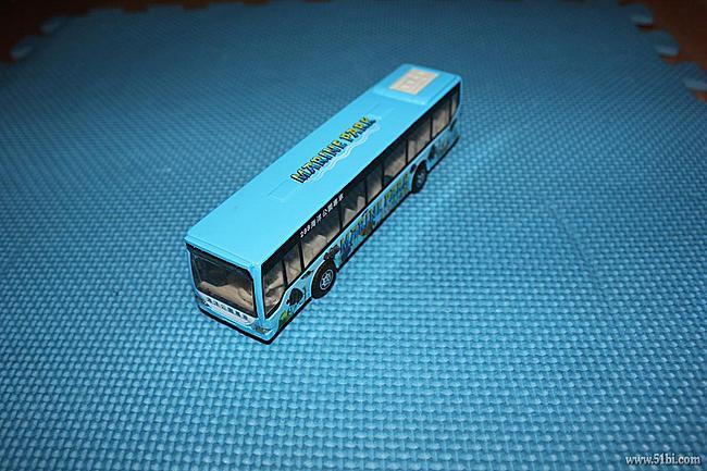 蓝色海洋公园巴士--男孩必备公交车
