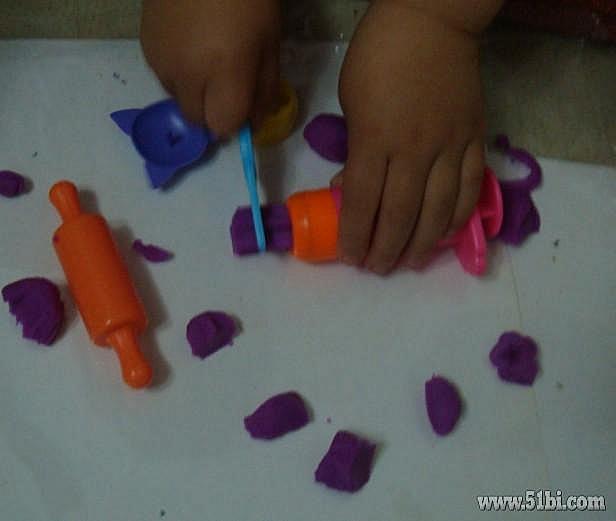 可爱的动物造型橡皮泥