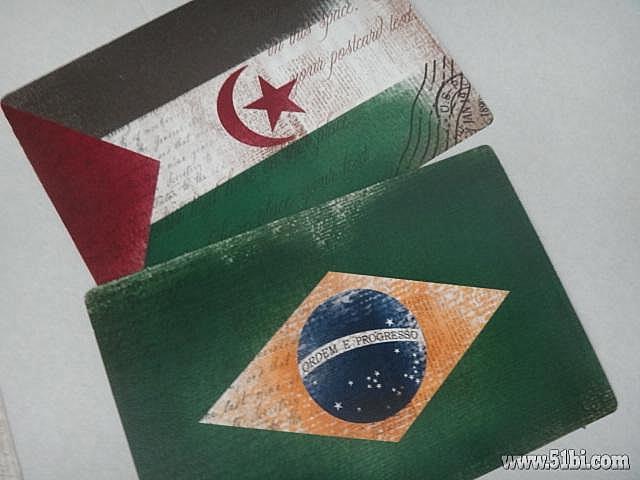 分享淘宝 各国国旗の卡片