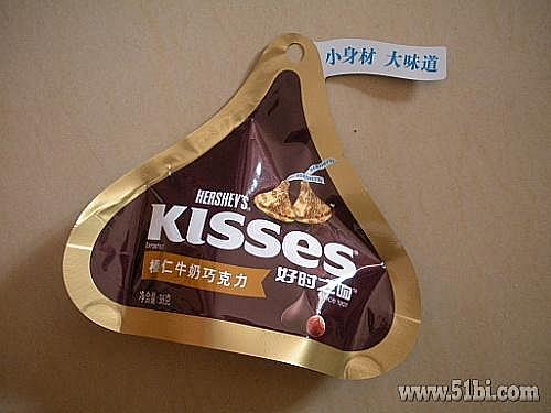 【晒单】好时之吻 榛仁牛奶巧克力