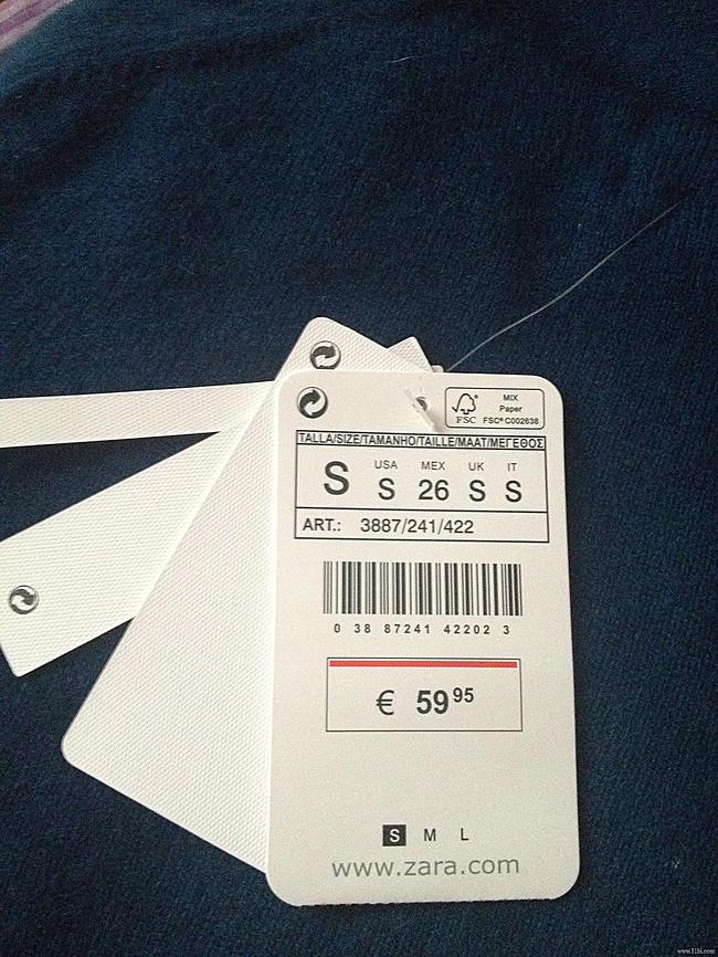 走秀网购入的 一件zara的羊绒衫