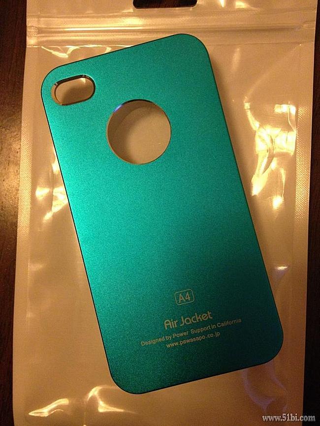 买的IPHONE 4蓝色金属质感手机壳
