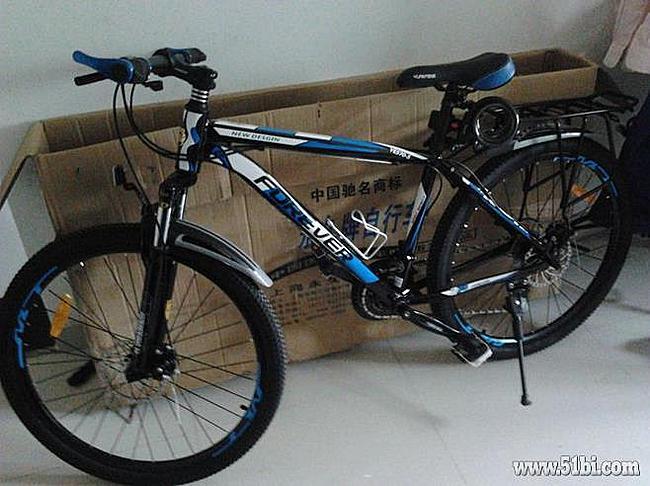 京东商城 永久神行者26寸轴承中轴 铝合金山地自行车