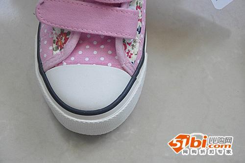 鞋底防滑-漂亮的回力儿童高帮运动鞋,小公主也可以很帅气