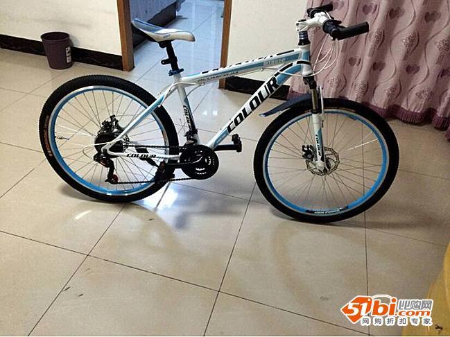 不完的订单之 京东购入骑彩山地自行车