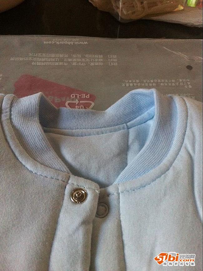 贝贝帕克秋冬婴儿连体棉衣图片