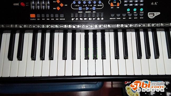 成人电子琴61键永美823正品儿童usb接口钢琴键盘包邮
