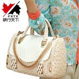 2013新款韩版 时尚鸵鸟纹包 手提包单肩斜跨包【已涨价】【已结束】