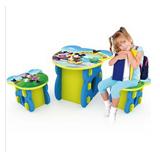 迪士尼Disney DIY玩具米奇形象桌椅15块装(1张桌子+2把凳子)ZY006【已涨价】【已结束】