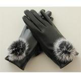 秋冬季时尚韩版女士真獭兔毛皮加绒保暖手套【已涨价】【已结束】