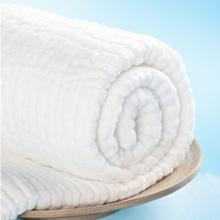 DAPU大朴 褶皱正方形纯棉6层纱布浴巾120*120cm 婴幼儿及敏感人群适用【已结束】