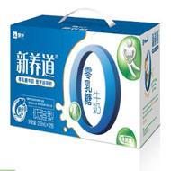 蒙牛 新养道零乳糖牛奶(低脂型)250ml*12(箱)