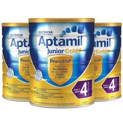 澳洲爱他美Aptamil金装婴儿奶粉4段(2岁以上)900g/罐*3