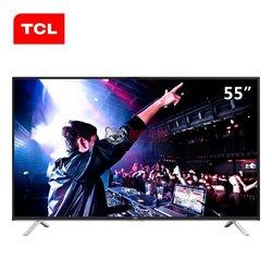 TCL彩电B55A558U 55英寸 真4K超高清  同步看院线大片 十核安卓智能LED液晶电视