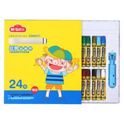 晨光(M&G)AGM90071 丝滑油画棒蜡笔绘画笔24色/盒