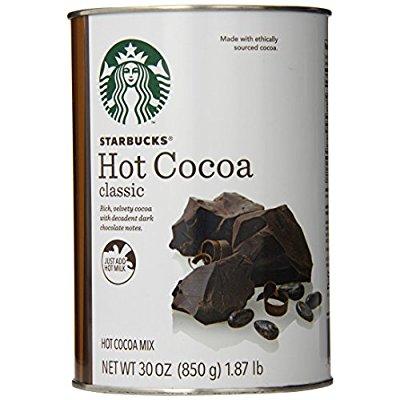 Starbucks 星巴克 Classic Hot Cocoa 热可可粉,30 Ounce
