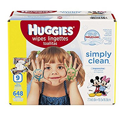 Huggies Simply Clean 无香型婴儿专用湿巾