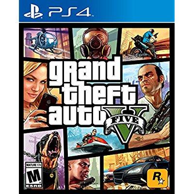 《Grand Theft Auto V 侠盗猎车手V》游戏PS4