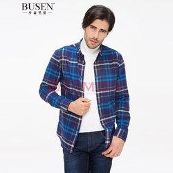 BUSEN 步森  男士长袖衬衫
