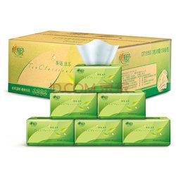 心相印抽纸 面巾纸 茶语系列 软抽3层150抽*24包