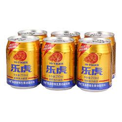 乐虎 氨基酸维生素功能饮料 250ml*6罐折17.95元(35.9元,买1送1)