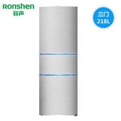 Ronshen 容声 BCD-218D11N 218升 三门冰箱    1199元包邮(需用券)