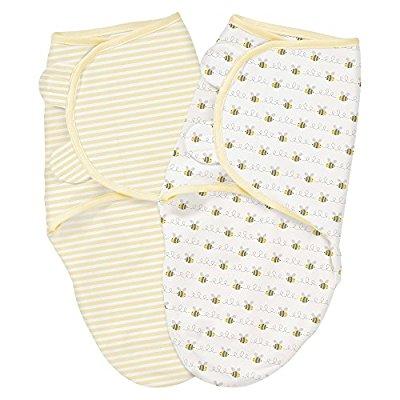 Summer Infant SwaddleMe 婴儿纯棉包巾,Small/Medium