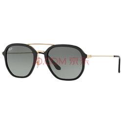 Ray-Ban 雷朋 中性款黑色镜框灰色渐变镜片眼镜太阳镜RB 4273 601/71 52mm599元