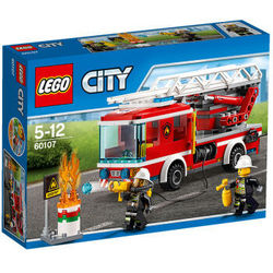 LEGO 乐高 City 城市系列 60107 云梯消防车*2件
