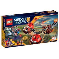 LEGO 乐高 70314 未来骑士团系列 炎兽猛将军的双头爆炎投石战车