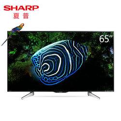 夏普(SHARP)LCD-65SU560A65英寸4K高清安卓智能合资平板液晶电视机价格_品牌_图片_评论-某当网