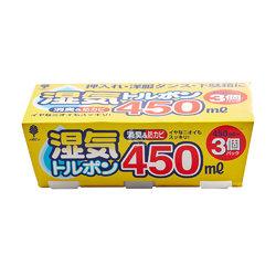 小久保 除湿剂450ml 3个装 日本进口