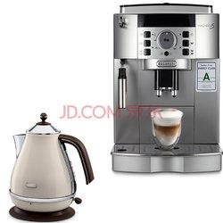 限北京,De'Longhi 意大利德龙 ECAM22.110.SB 全自动意式咖啡机+电水壶套装 新低¥20002000元