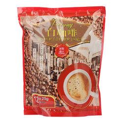 限华南等地!马来西亚进口 乐卡斯 白咖啡风味固体饮料 300g/袋(12*25g)  6.9元(69元10件)