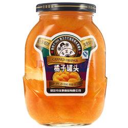 芝麻官 水果罐头 橘子罐头 450g加送50g 2件15.7元(买一送一)