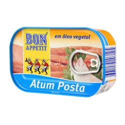 【某东超市】葡萄牙进口 棒滋味 Bon Appetit 植物油浸金枪鱼罐头 120克*7