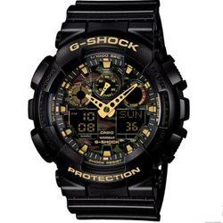 CASIO 卡西欧 G-SHOCK GA-100CF-1A9 男士双显运动手表