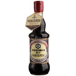 万字 纯酿造酱油 500ml/瓶