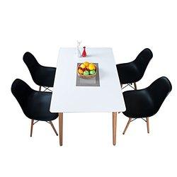 Homestar 好事达 伊姆斯 长方形多用桌椅套装 1桌4椅 ¥799包邮(¥1598 下单5折)