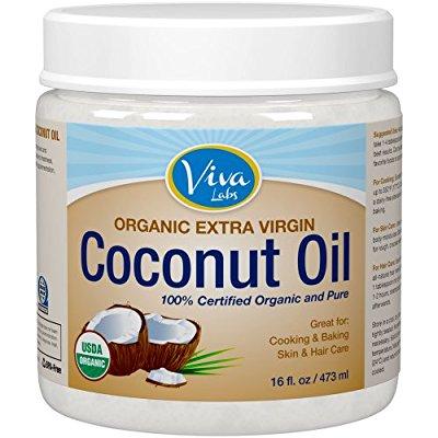 Viva Labs 特级初榨椰子油,16 Ounce