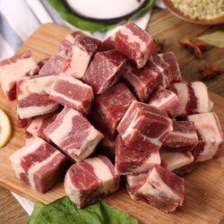 Tender Plus 天谱乐食 澳洲牛腩块 1000g+澳洲M3上脑牛排 200g