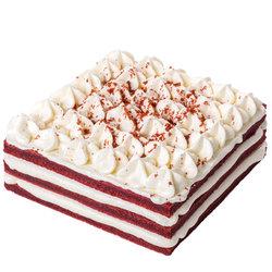 限地区: 贝思客 红丝绒新鲜蛋糕 1.2磅    88元包邮