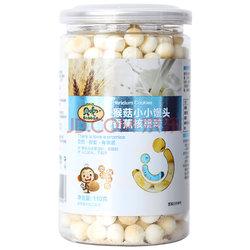 贝兜宝宝零食 猴菇饼干 香蕉核桃味小小馒头 110g19.8元(买3免1后)