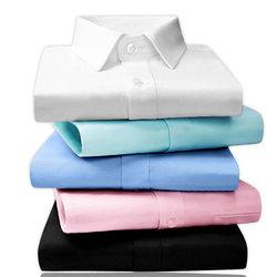 伯克龙 男士纯色棉质免烫衬衫 79元包邮
