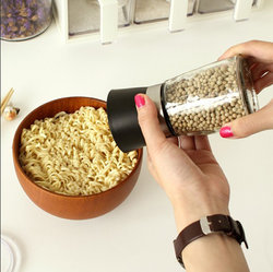 豆萁 手动研磨器花椒粉器