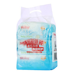 Nuby 努比 婴儿洁肤湿巾(88抽)3包入 超值装