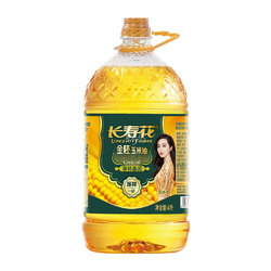 长寿花 金胚玉米油 4L/桶