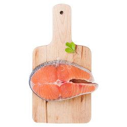 禧美 冷冻三文鱼切段 200g(1块)