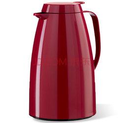 德国原装进口 爱慕莎(emsa)玻璃内胆保温壶家用 保温瓶 热水瓶 暖壶 保温水壶 暖水瓶 贝格系列1.5L 暗红色